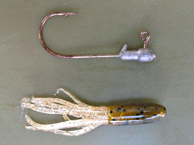 Tube lure rigs freshwater fishing news for Tube fishing lure