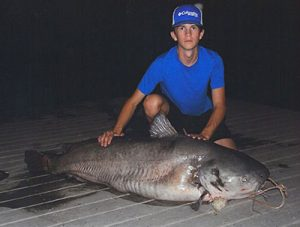 NC state record blue catfish