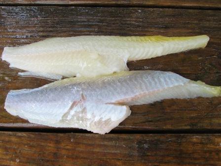 skinless catfish fillets